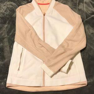 Lululemon athletic zip-up jacket.